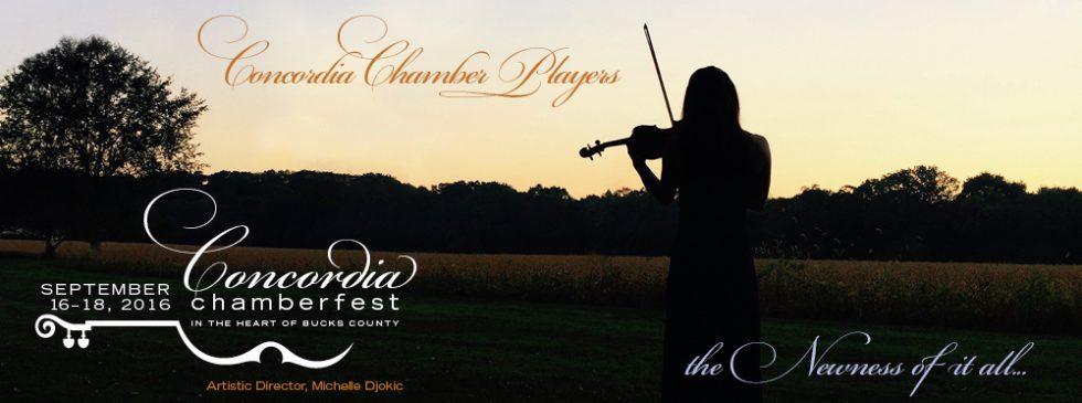 Concordia Chamberfest 2016