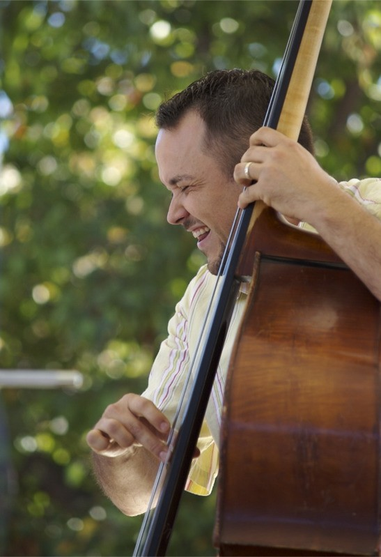Sam Bevan - upright bass